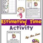 Do your students need to practice estimating time? Make it fun with a ready-to-use hands-on activity!   ===========================================...