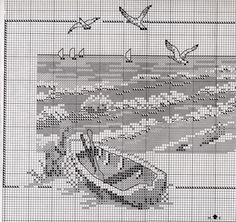 Gallery.ru / Фото #2 - вышивка крестом: море - Vladikana