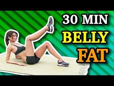 belly fat workout,stubborn belly fat,belly fat after baby,belly fat overnight Lose Belly Fat Quick, Loose Belly Fat, Melt Belly Fat, Home Exercise Routines, At Home Workouts, Exercise Challenges, Video Sport, Belly Fat Workout, Belly Workouts