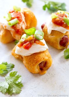 Taco Pigs in a Blanket