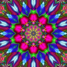 Gimp Plasma Kaleidoscope by Ate My Crayons, via Flickr