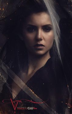 The Vampire Diaries S5 Art: Nina Dobrev as Elena Gilbert