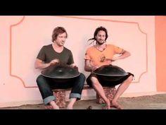 Hang duo - James Winstanley and Daniel Waples play Sams Dance