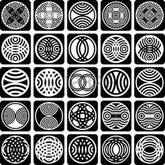 派手なデザイン要素です。パターンを設定します。抽象的なアイコン。ベクトル アート。 photo