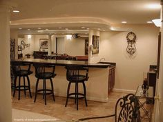Ceiling Interior Design Ideas For Basement With Rustic Wet Bar Ideas Wet  Bar Ideas For Small Spaces With Recessed Ceiling Lamp Wall Sconce  Countertops  63 Finished Basement  Man Cave  Designs  AWESOME PICTURES  . Basement Ideas For Men. Home Design Ideas