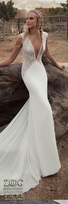 ZOOG BRIDAL STUDIO OLLECTION 2015 DESIGN BY SIGI SONEGO MAKE UP BY NATHALIE SHARVIT www.zoogstudio.co.il