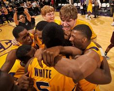 Down 17, Basketball Rallies to Beat No. 23 MSU in OT: Anthony Hickey nailed an 8-foot floating runner in the lane with 1.4 seconds left in overtime followed by an Andre Stringer steal to complete the LSU men's basketball team 69-67 comeback triumph over No. 23 Mississippi State at the Maravich Center - 2/14/12.