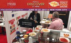 Otra edición más Caprichos del Paladar, presente en la feria Fancy Food Show 2017 en Nueva York