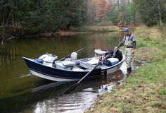 Low-profile drift boat. If I stay living in the west this is at the top of my list for purchases to be made.  Can't be a guide, even a part-time one, without your own drift boat.