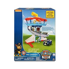 Paw Patrol The Lookout Playset with Chase Paw Patrol Action Figures, Paw Patrol Lookout, Old Boy Names, Lookout Tower, Little Tykes, 10 Year Old Boy, Lego Blocks, Kids Birthday Gifts, 4th Birthday