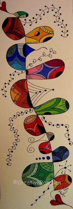 Zentangle Art by.... Rosalien
