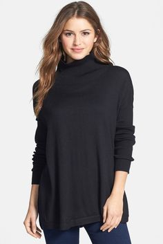 Vince Camuto Oversize Turtleneck Sweater