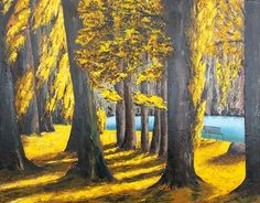 Autumn on Lake Wanaka Lake Wanaka, Round Mirrors, New Zealand, My Arts, Autumn, Artist, Artwork, Painting, Work Of Art