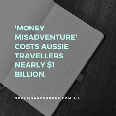Lost or stolen money or possessions, debit and credit card currency conversion fraud or missing a flight is costing Australian travellers almost $1 billion each year, with new research revealing that money theft is the number one cause of money misadventure.