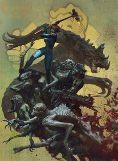 ArtStation - Fallout 4-Hammer, Bayard Wu