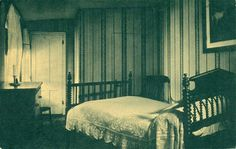 Petersen House Bedroom, Lincolns death bed