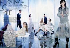 September 2011 US Vogue photo Steven Meisel stylist Grace Coddington models Fei Fei Sun Jourdan Dunn Caroline Trentini Mirte Maas Daria Strokous Women Management NYC Blog 5