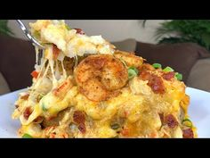 - YouTube Seafood Baked Potato Recipe, Seafood Recipes, Beef Recipes, Cooking Recipes, Southern Recipes, Southern Food, Loaded Baked Potatoes, Potato Side Dishes, Quick Meals
