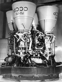 The RD-170 / РД-170 (Ракетный Двигатель-170, Rocket Engine-170) is the world's most powerful multi-chamber liquid-fuel rocket engine, designed and produced in the Soviet Union for use with the Energia launch vehicle.