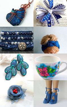 2158 - Very Blue  by Shelley on Etsy--Pinned with TreasuryPin.com