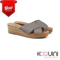 Pense em conforto! Agora calce esse tamanco e aproveite o final de semana #koquini #comfortshoes #euquero #malusupercomfort Compre Online: http://koqu.in/2cYZlgl