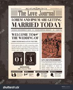 http://image.shutterstock.com/z/stock-vector-vintage-newspaper-journal-wedding-invitation-vector-design-template-191093972.jpg