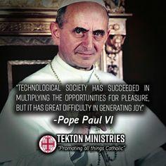 ~Pope Paul VI