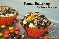 Hope In Every Season: Peanut Butter Cup Ice Cream Cupcakes #snacktalk #ad #cbias#c6669711287501122982#c6669711287501122982