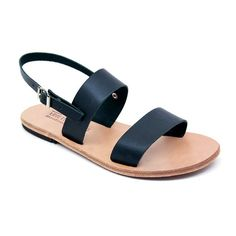 FREE SHIPPING - Plato UNISEX handmade leather sandal, Various colours, Monochrome, Greek Sandals made locally