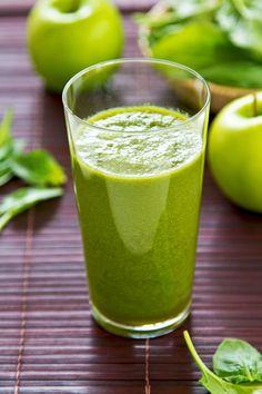 Broccoli, selderij, appel, banaan, honing, citroensap, amandelmelk, water