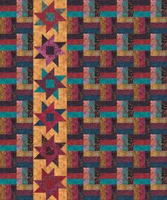 Tonga Boysenberry Quilt Pattern by Timeless Treasures