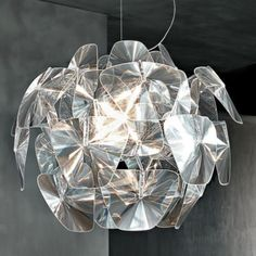 """Hope Suspension by Luceplan (24"""", 28"""" or 43"""" dimensions) (to be purchased) Location: Rm 104 Dining"""