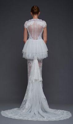 Blossom #Dress (Back) from Victoria KyriaKides #VKK #bridal #2016 collection. #weddingdress #wedding #style #fashion #weddinggown #love