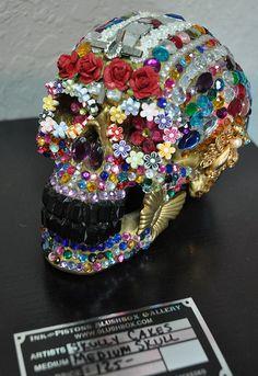 Skully Cakes skull!