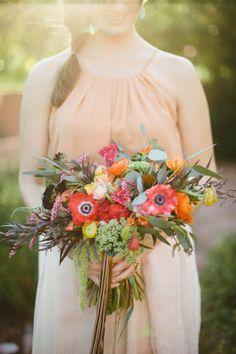 bridal bouquets, poppi, flower