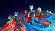 Fire Emblem in Ssb. Notice how Chrom and Roy are in the back...alone...how sad...