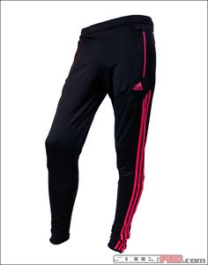 adidas Womens Condivo 12 Training Pant - Black with Bright Pink Nike Outfits, Soccer Outfits, Sporty Outfits, Athletic Outfits, Athletic Wear, Sport Fashion, Yoga Fashion, Fitness Fashion, Design Nike