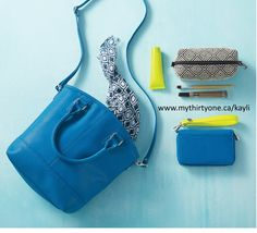 Paris Purse, Uptown Mini Pouch, Rolling Jewel Wallet -  www.mythirtyone.ca/kayli #31party #31why #31uses #31canada