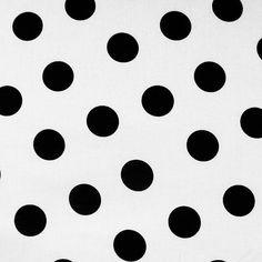 Stippen Wit-zwart groot