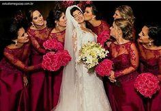 Fotos para tirar com as madrinhas de casamento