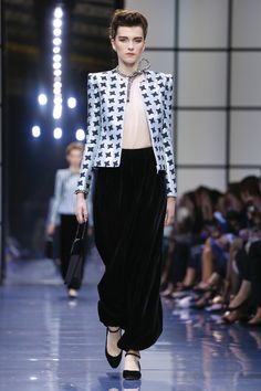 Giorgio Armani Prive Fashion Show Couture Fall Winter 2016 in Paris