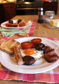 One Pan Full English Fry up