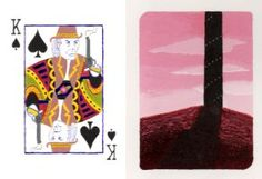 Roland Playing Card by MikeWeasel King Of Spades, Playing Cards, Deviantart, Artist, Artwork, Work Of Art, Auguste Rodin Artwork, Playing Card Games, Artists