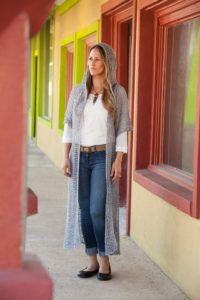 Daytime Duster is made with Dalia,