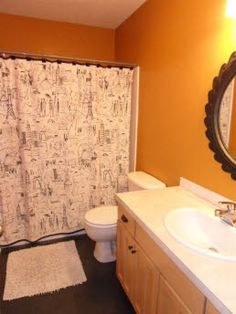 Single_family Built In That Sold On Today Find This Pin And More On For The Home By Jmcu Orange Bathroom See More