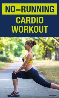 No-Running Cardio  Workout   Posted by: NewHowtoLoseBellyFat.com