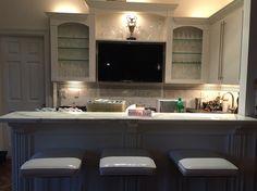 notre bar blanc en marbre
