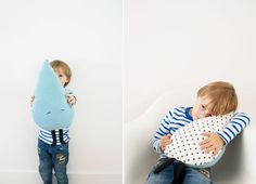 A worned out sweater makes great reusable material. Its soft and perfect to try out this craft project. Click here to see how Mereta from One More Mushroom made this cute Rain Drop Pillow. ..Rain Drop Pillow tutorial ..BKids' craft...