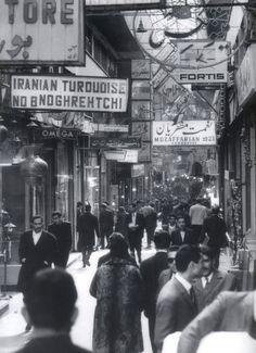 """iraninimage: """" Photo by: Mahmoud Pakzad / Tehran Bazar / 1954 """""""