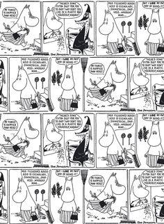 Comic strip Moominmamma    Sarjakuva-muumimamma